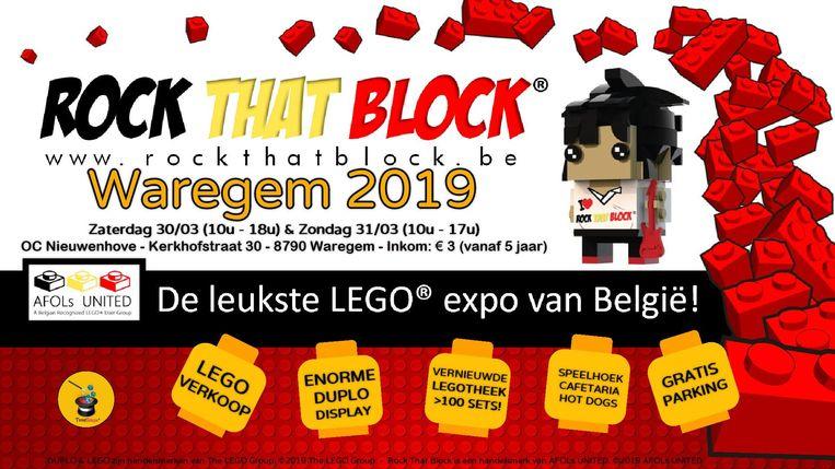 Fans van LEGO mogen Rock That Block niet missen