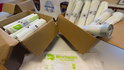 Mechelen vraagt schadevergoeding van meer dan 1,5 miljoen euro aan bende die vuilniszakken namaakte