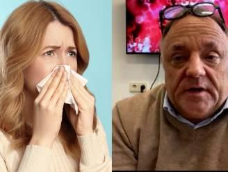 Zijn we nu vatbaarder voor verkoudheid en griep? En hoe merk je het verschil met corona? 6 vragen aan viroloog Marc Van Ranst