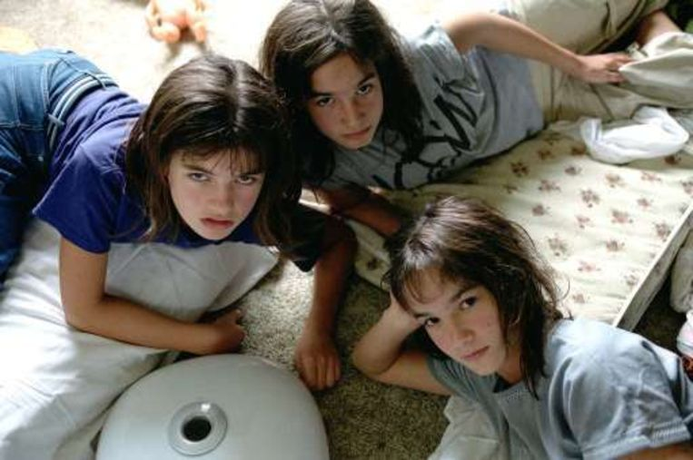 Een beeld uit de film 'De zusjes Kriegel'. Beeld UNKNOWN