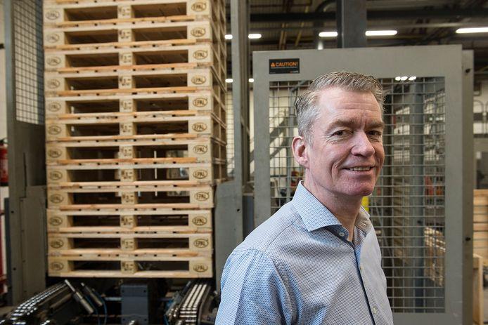 Directeur Jurgen Kemps van Dongen Pallets. 'Het bedrijfsplan van Tuf zat goed in elkaar. Ik was overtuigd dat het goed zou gaan.'