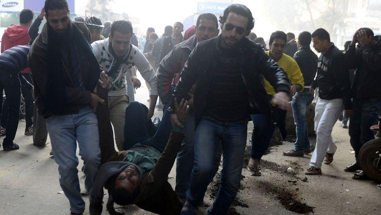 Meer dan 50 doden bij nieuwe dodelijke onlusten in Caïro Beeld REUTERS
