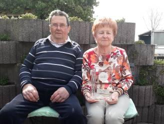 Huwelijksbootje Luc en Rosette vaart 50 jaar