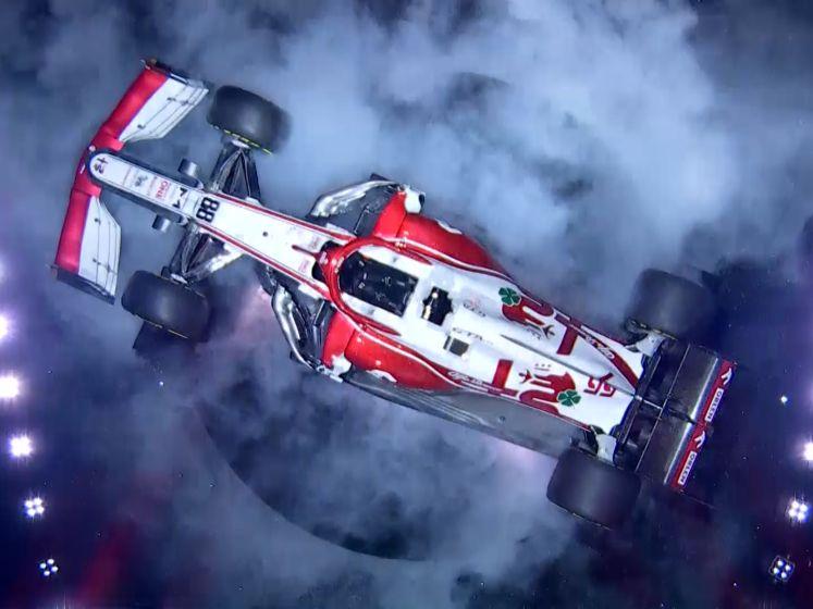 Alfa Romeo presenteert gloednieuwe Formule 1-auto