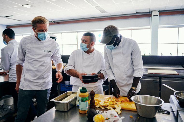 Seppe Nobels: 'Er blijken 'gastchefs' in mijn eigen stad te wonen die in hun keukentje thuis de gekste dingen maken.' Beeld Thomas Sweertvaegher
