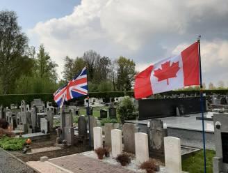 NSB Waasmunster eert oorlogsslachtoffers met vaandels