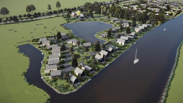 Het nieuwe Landal vakantiepark in Blokzijl