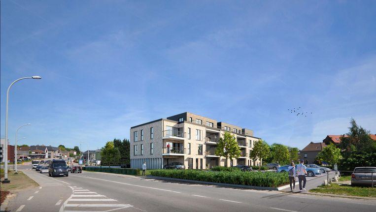 Zo moeten de nieuwe appartementen op de Reinelaan er gaan uitzien.