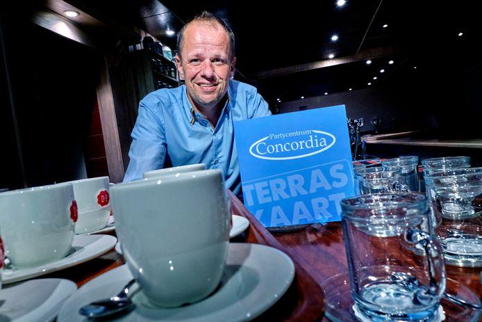 John Kraijo, eigenaar van partycentrum Concordia.