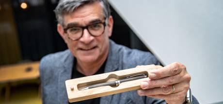 Wijchen presenteert pen gemaakt van middeleeuwse waterput