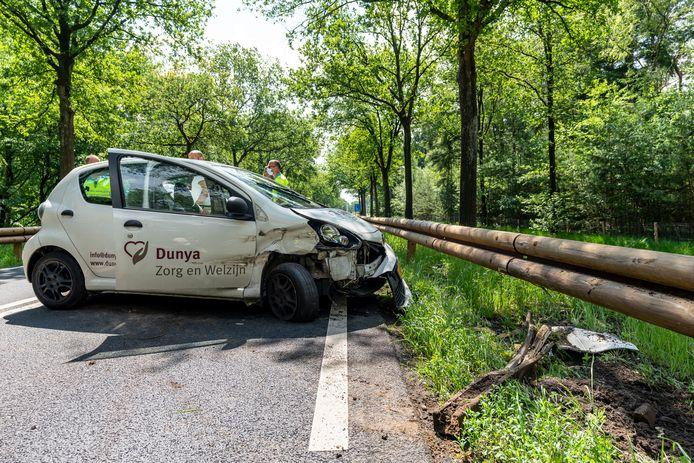 Eenzijdig ongeval Vijf Eikenweg Oosterhout