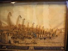 Stokoud panorama-schilderij met Willem I komt boven water in Oudenbosch' museum