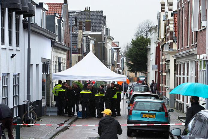 In de Bovenstraat werden in 2015 twee Albanese broers vermoord.