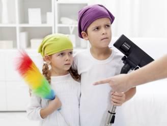 1 op 4 kinderen steekt nooit handje toe in het huishouden