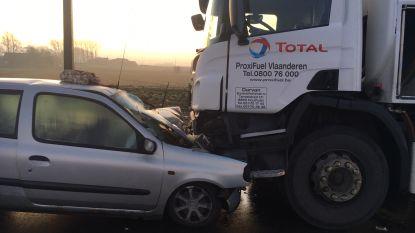 Drie ongevallen op zelfde moment aan wegversmallingen, burgemeester belooft extra maatregelen