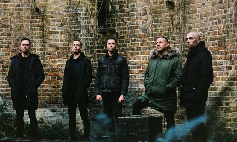 De Britse band Architects.  Beeld Ed Mason