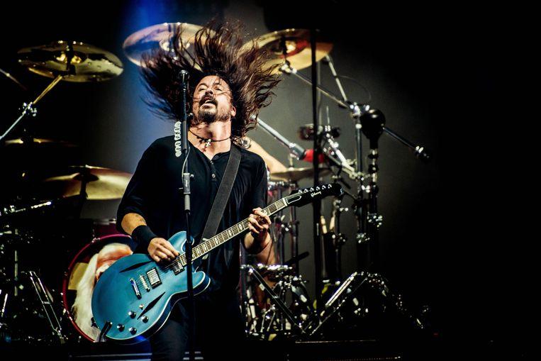 Dave Grohl van de Foo Fighters. Beeld ID/Stefaan Temmerman