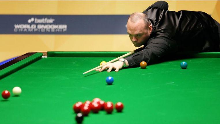 Stuart Bingham plaatst zich voor de kwartfinales Beeld PHOTO_NEWS