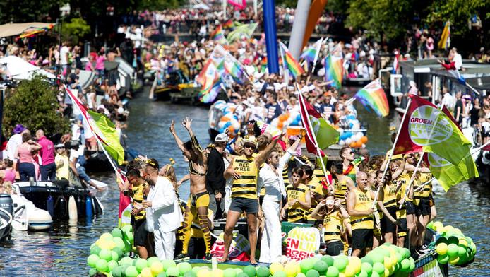 De achttiende editie van de Gay Pride in 2013.
