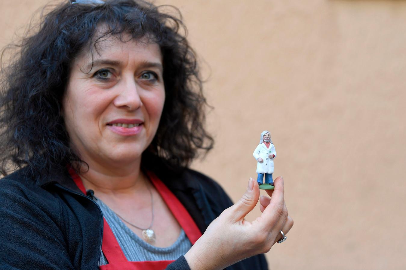 Fabienne Pardi et son Didier Raoult miniature
