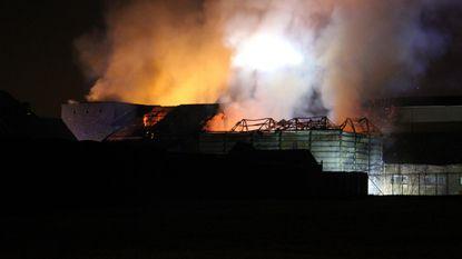 Hangarbrand legt wietplantage bloot