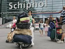 Minder treinen rond Schiphol door werkzaamheden