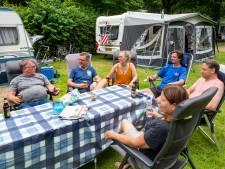 Campings in Arnhem en verre omgeving moeten nee verkopen. Alleen een paar nachten kan soms nog
