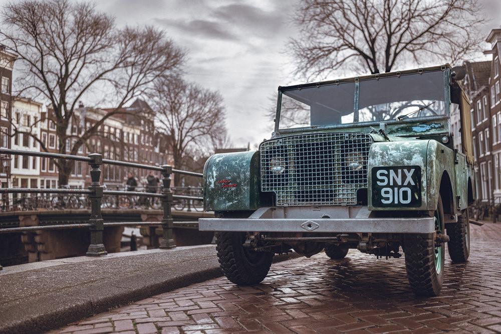 Land Rover prototype.