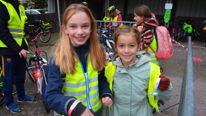 Actie 'Helm Op Fluo Top!' moet leerlingen Hartencollege Meerbeke motiveren om veilig per fiets naar school te komen