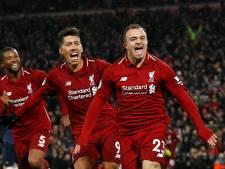 Liverpool blijft aan kop dankzij supersub Shaqiri