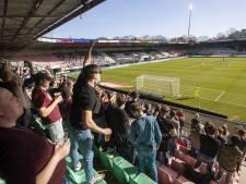 Publiek bij wedstrijd NEC 'niet helemaal zeker', Nijmegen verbiedt horeca wedstrijd uit te zenden
