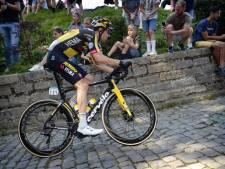 Dumoulin is op Muur van Geraardsbergen langzaam weer wielrenner aan het worden
