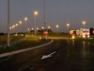 Parking Westkerke dan toch 's nachts open voor vrachtwagenchauffeurs