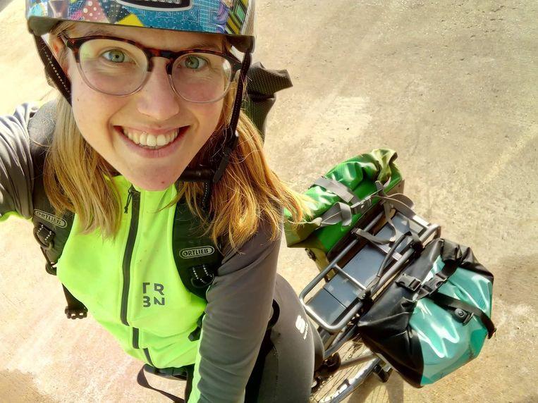 Thaïsa kreeg de elektrische fiets van haar vader toen die twee jaar geleden op zijn sterfbed lag.