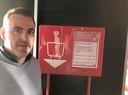 Jurgen Masselus, zaakvoerder van AD Delhaize in Poperinge.