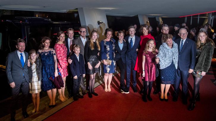 Groot deel Koninklijke familie present op verjaardagsfeest prinses Margriet