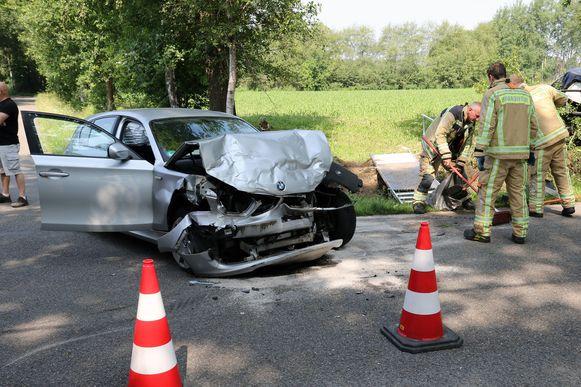 In de Duitse BMW zaten vier jongeren.
