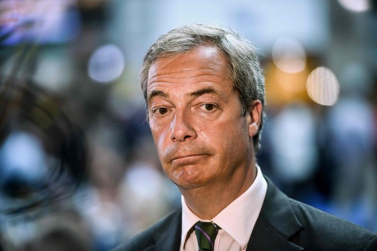 Nigel Farage. Beeld afp