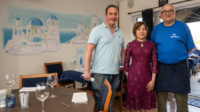 """Horeca mag weer binnen open, maar restaurant Sable 2 pakt ook uit met gloednieuw terras: """"Voortaan ook Griekse keuken"""""""
