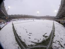 Hevige sneeuwval maakt einde aan duel tussen Roda JC en Almere City