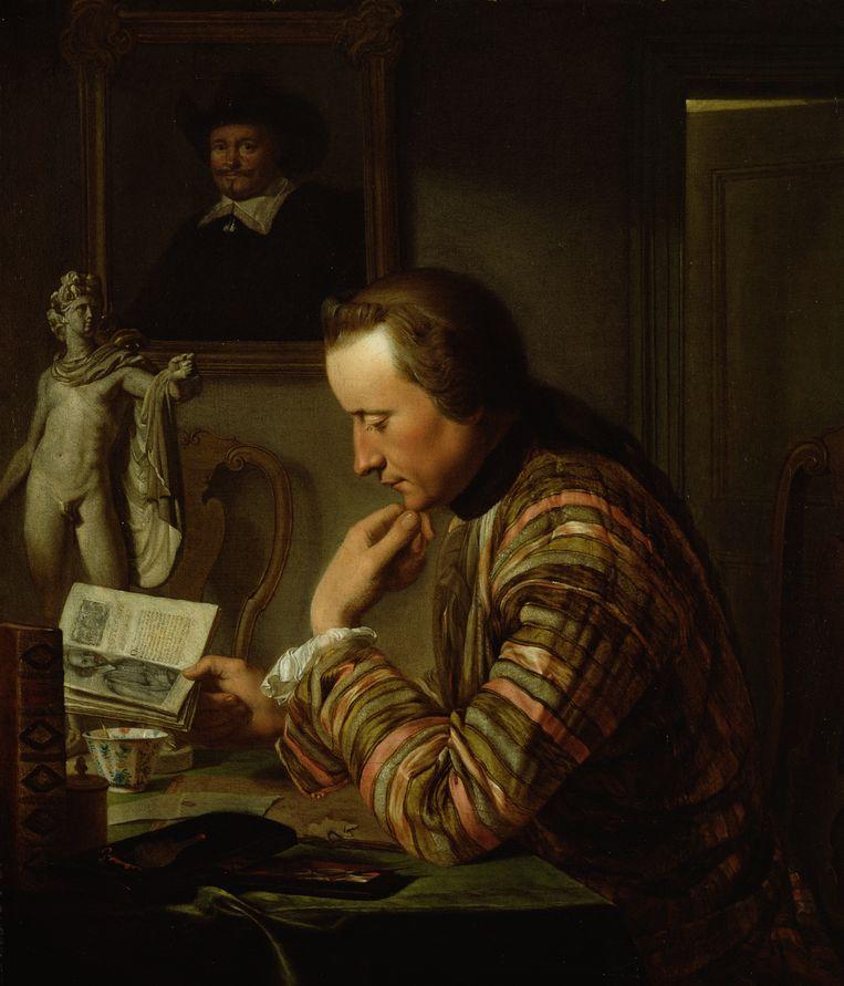 Portret Joan Huydecoper van Maarsseveen (1769-1836), toegeschreven aan Wybrand Hendriks, circa 1790. Beeld Amsterdam Museum