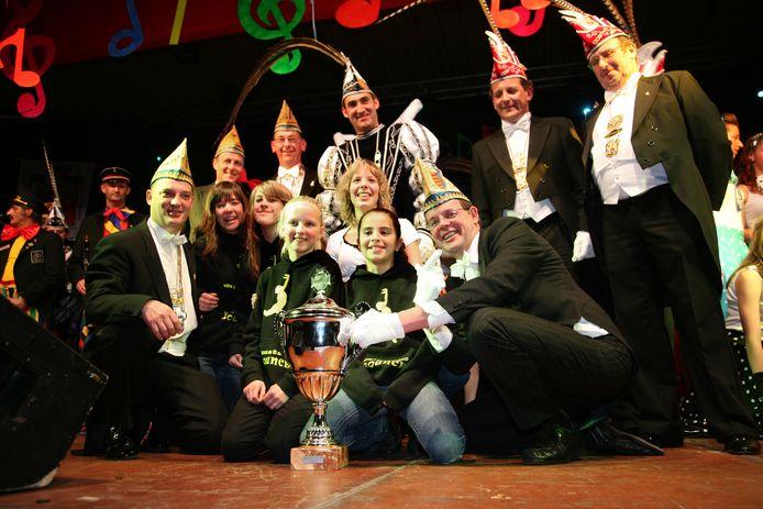 In het verleden wonnen De Spasbinken uit Genk Carnavalissima.