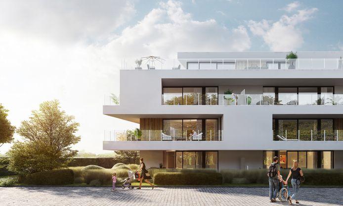 Een toekomstbeeld van residentie Pur Sang.