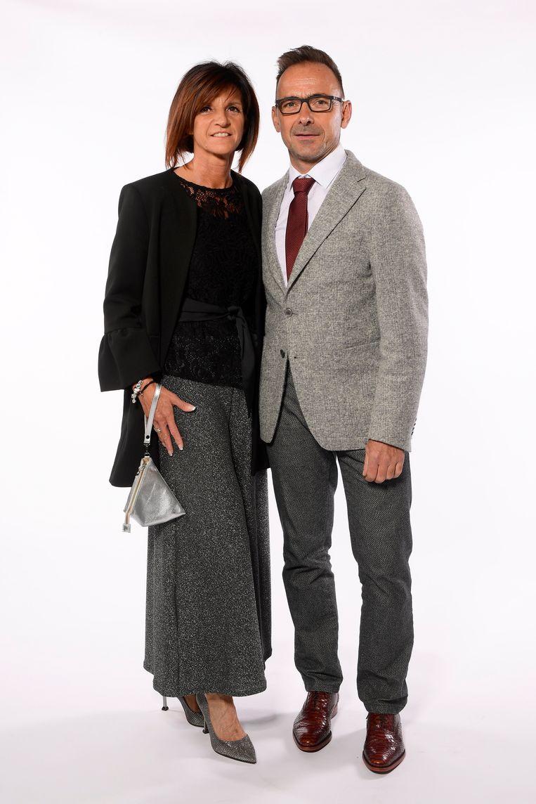 Patrick Evenepoel & Agna Van Eeckhoudt, de ouders van Remco Evenepoel.