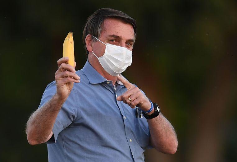 Jair Bolsonaro Beeld AFP