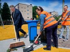 Afvalkar maakt werk van puinruimers in Crabbehof makkelijker