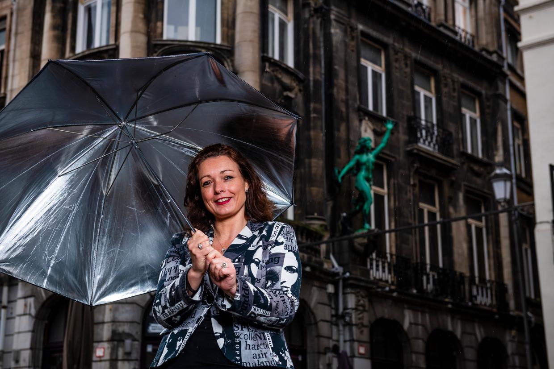 Rosalie Bogaard, vriendin van Ludo Van Campenhout, getuigt over het gevecht van haar geliefde tegen de drank. Beeld Gregory Van Gansen / Photo News