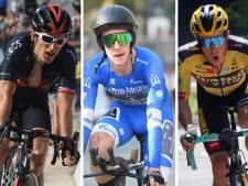 Dit is de deelnemerslijst van de Giro