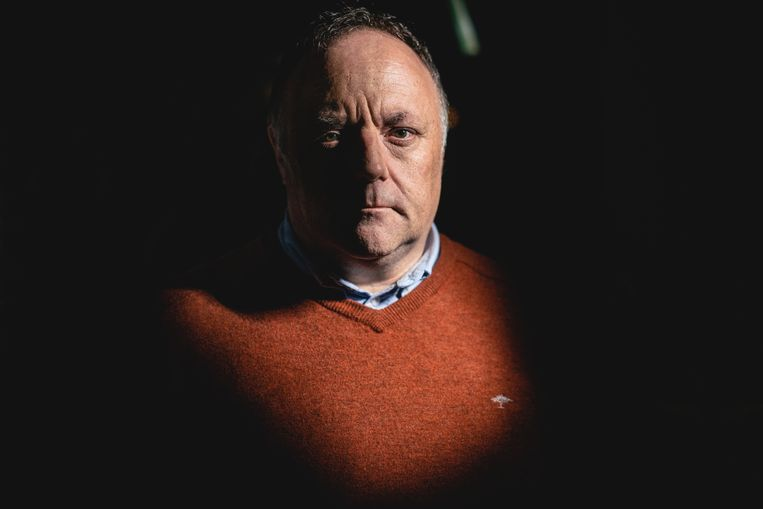 Viroloog Marc Van Ranst. Beeld Stefaan Temmerman