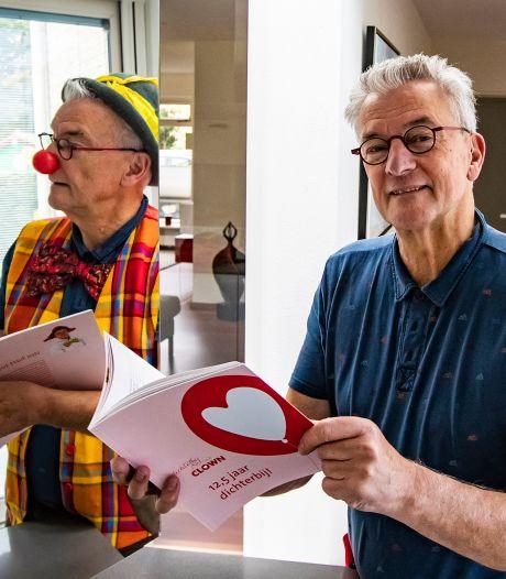 Dichterbij-clown uit Wijhe maakt al 12,5 jaar bijzonder contact met kwetsbare mensen
